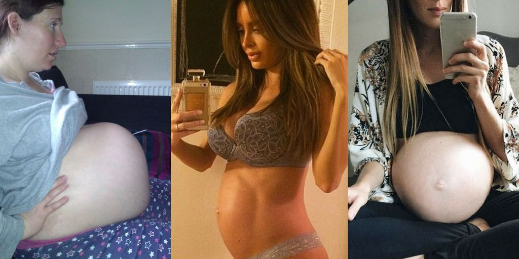 15 Of The Most Oddly Shaped Baby Bumps | BabyGaga