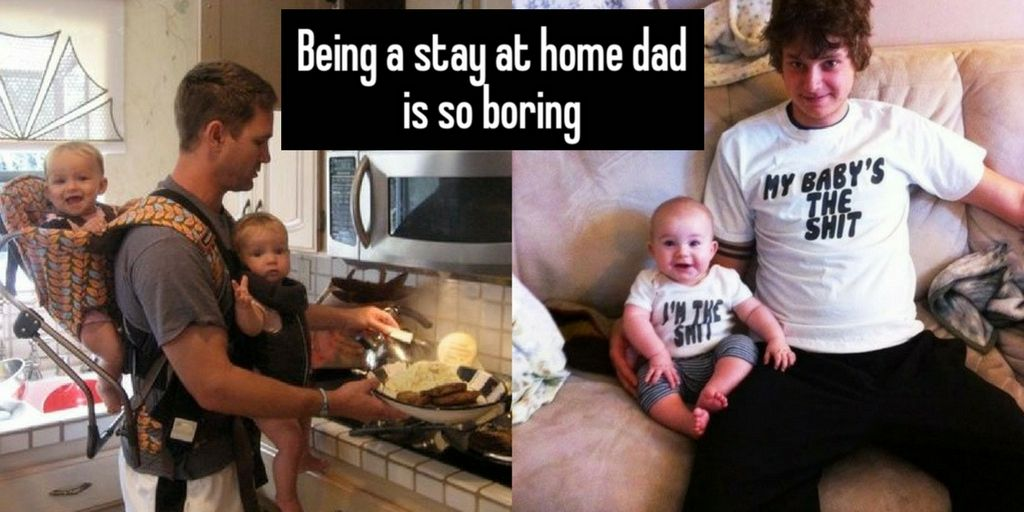 Whisper Confessions From Stay-At-Home Dads Moms Will Want