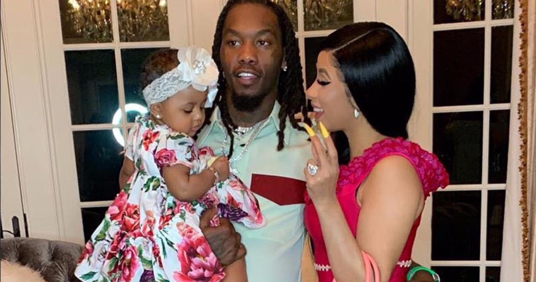 Cardi B Reveals Huge Offset Tattoo Of Husband S Name On: Offset Reveals If He & Cardi B Will Have More Children In